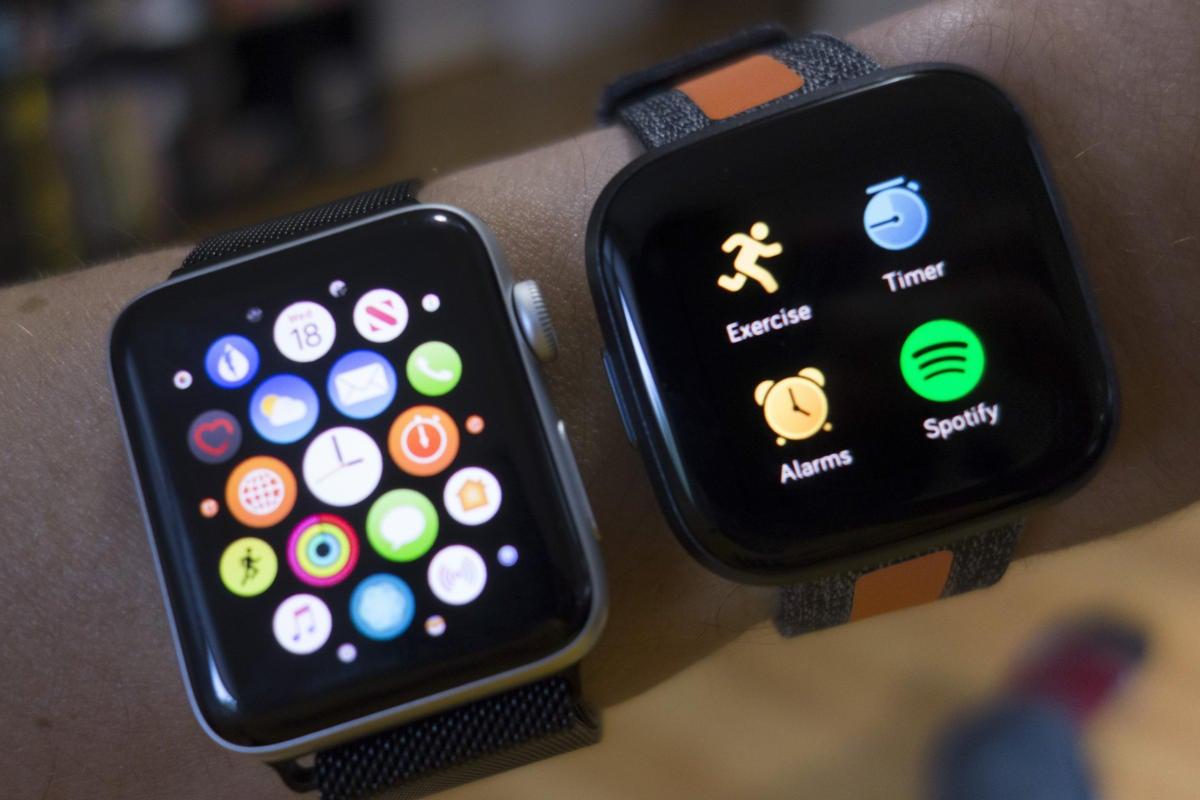 apple watch versa apps