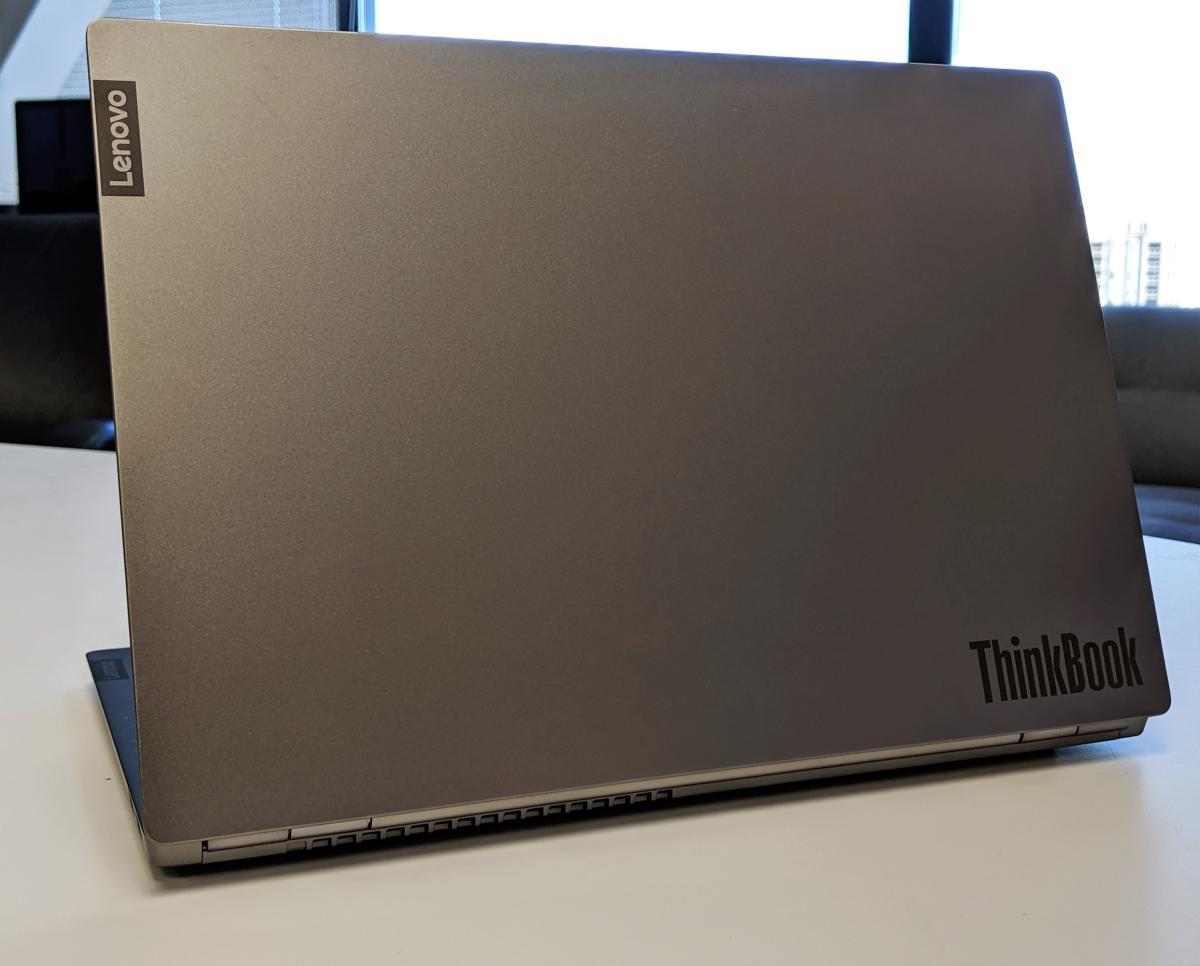 Lenovo ThinkBook 13s back