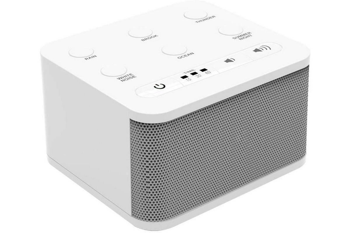 This Big Red Rooster white noise machine is just $12 today