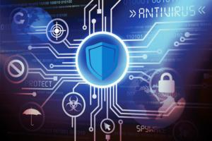 Antivirus / virus alert / warning / security threats / protection from attack