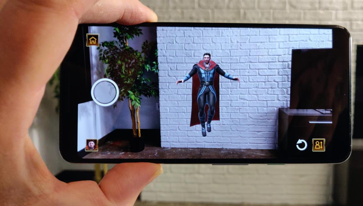 Lenovo Disney Marvel Dimension of Heroes doctor strange photo mode