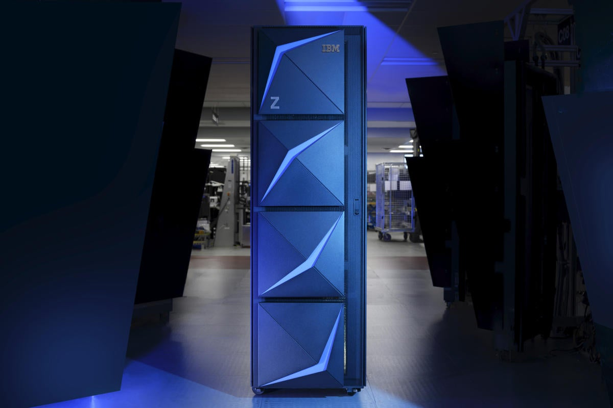 ibm z15 mainframe
