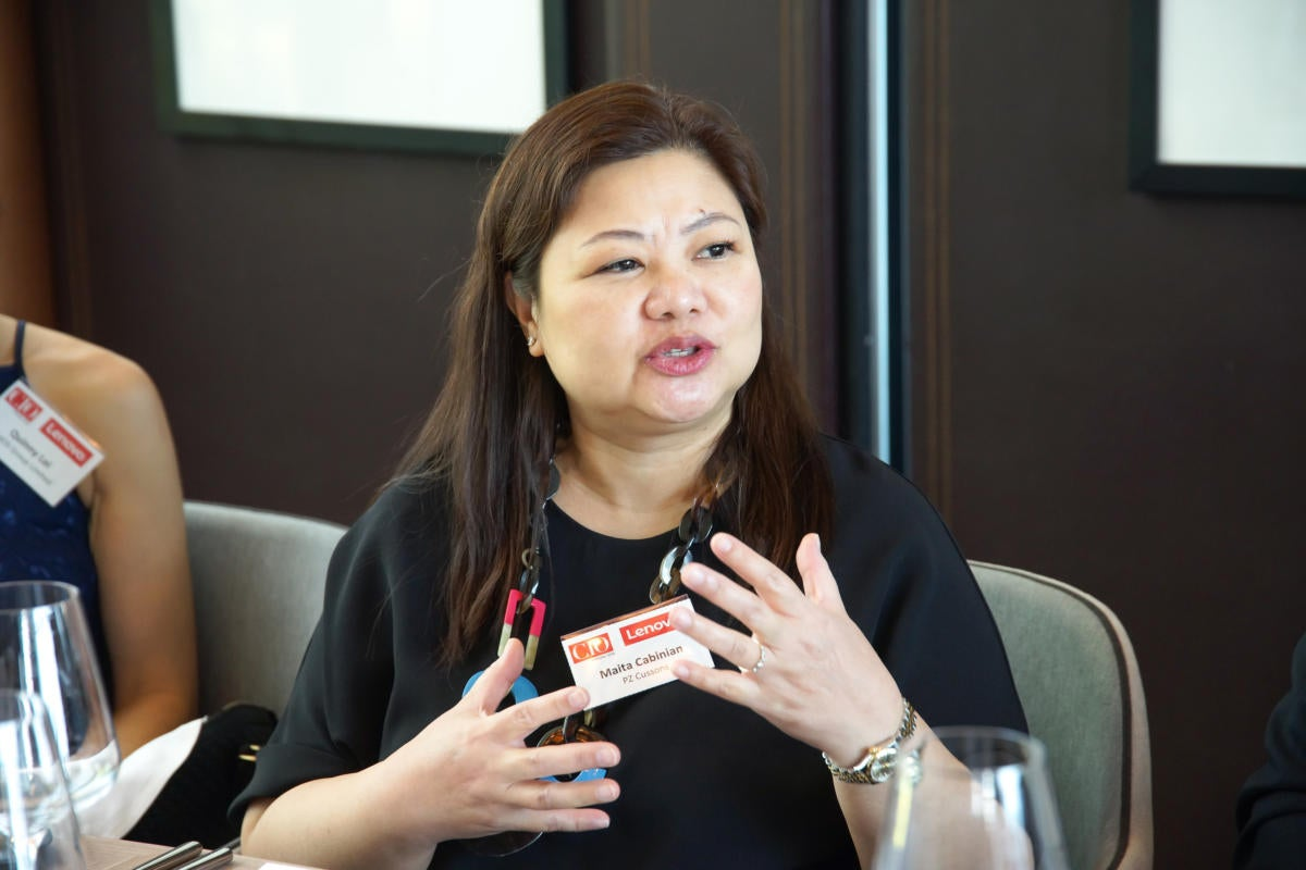 Maita Cabinian, Regional IT Director of PZ Cussons