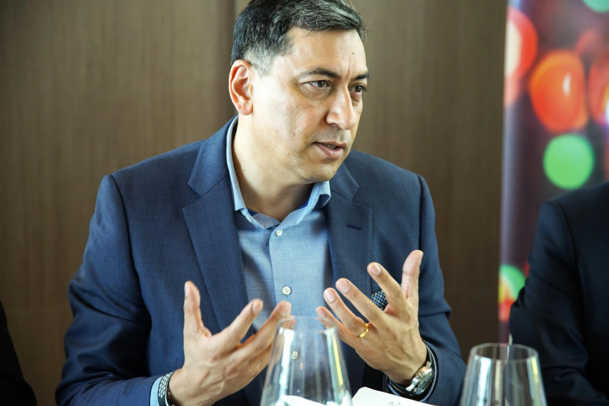 Sumir Bhatia, President of Data Centre Group Asia Pacific at Lenovo