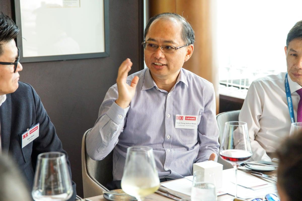 (c) Joshua Woon, CTO of Challenger Technologies