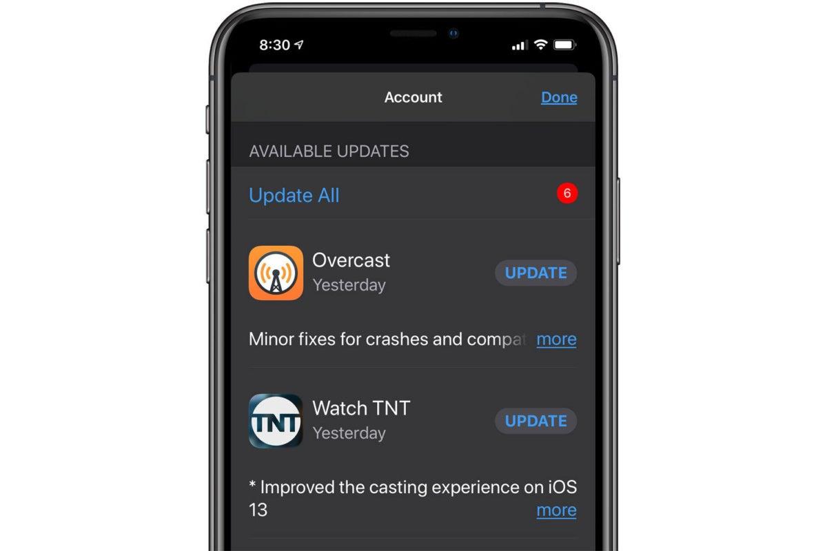 App Updates Ios 13