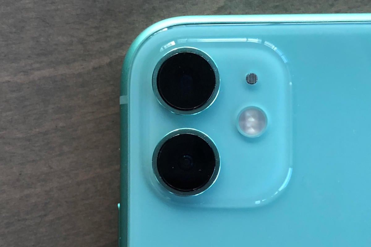 iphone 11 camera closeup