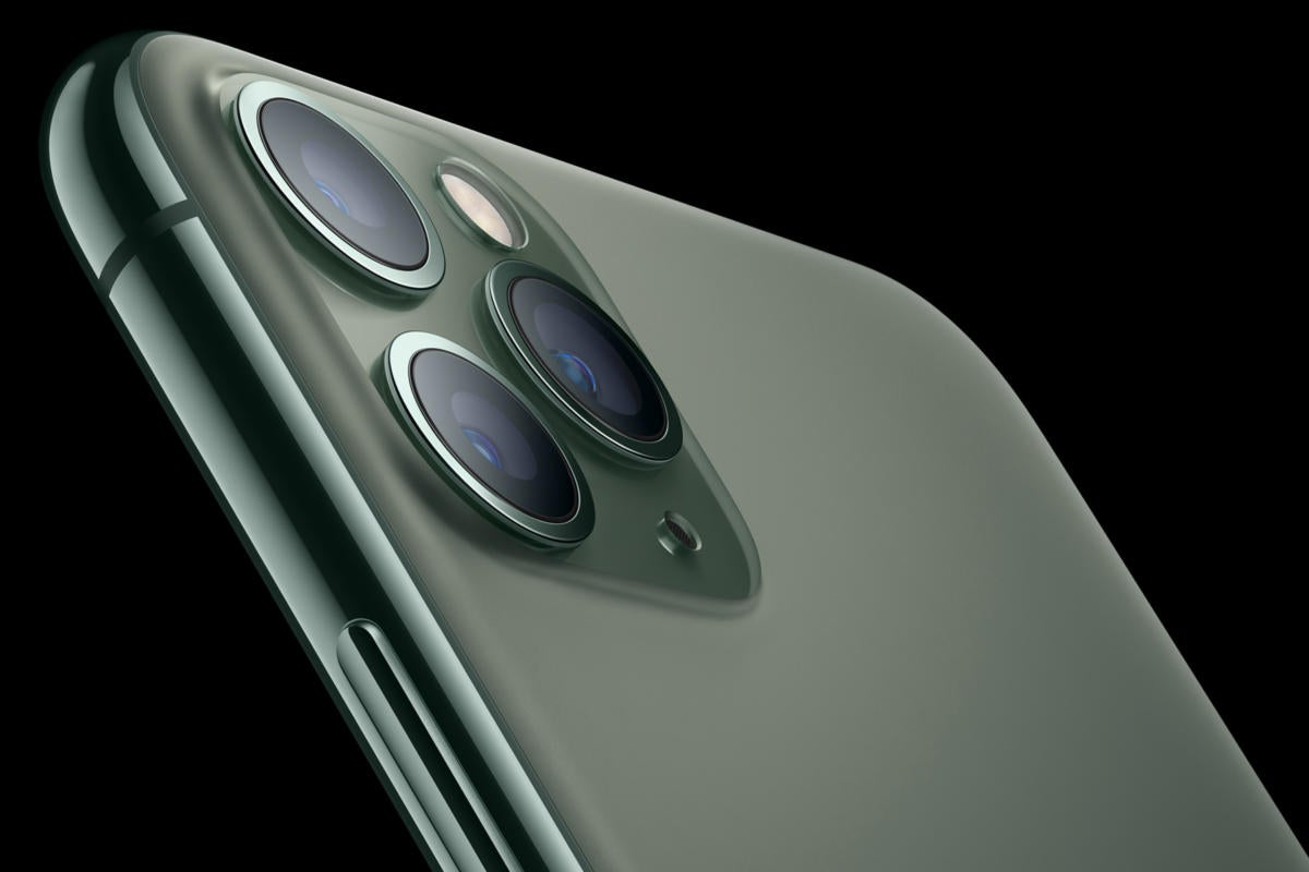 Hurry and order your iPhone 11 Pro in Midnight Green because