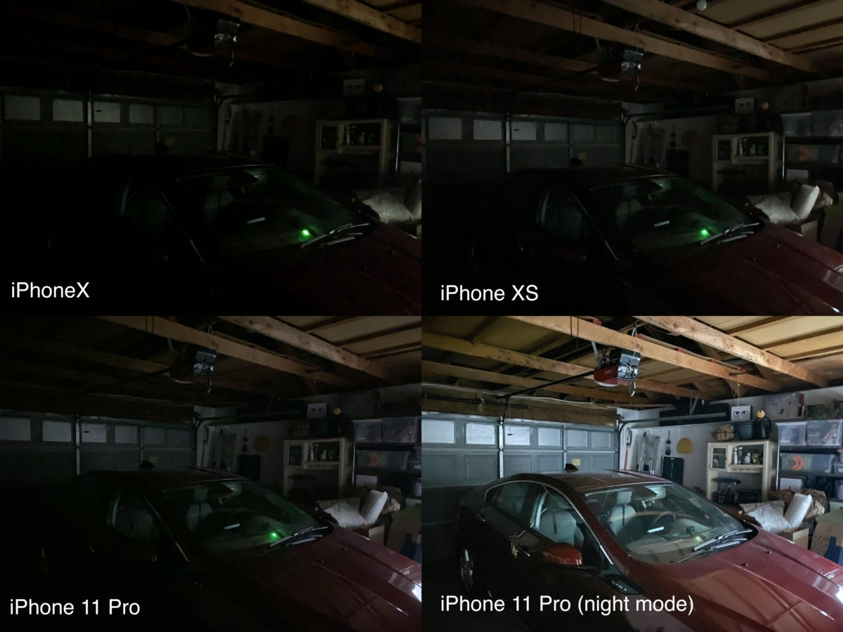 iphone 11 pro garage compared