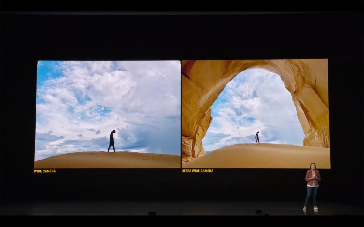 iphone 11 wide ultra wide event