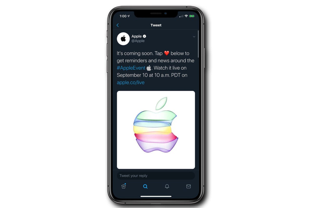 iphone apple twitter sept10 event