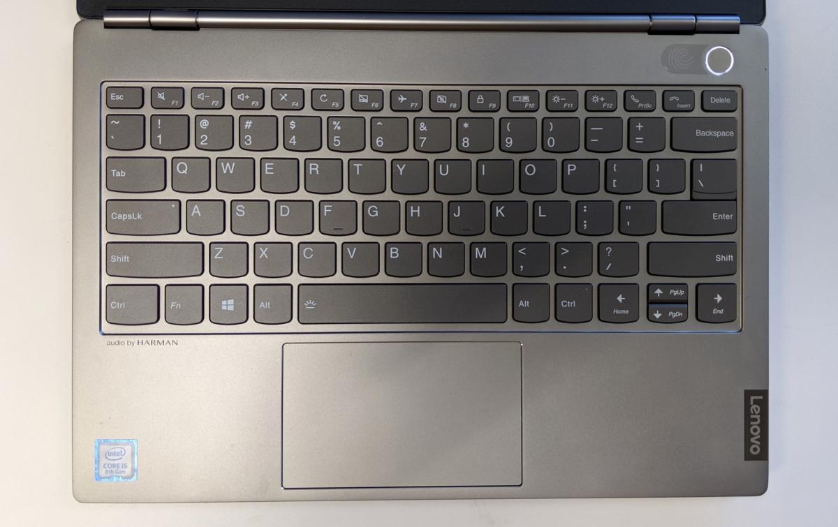 Lenovo ThinkBook 13s keyboard