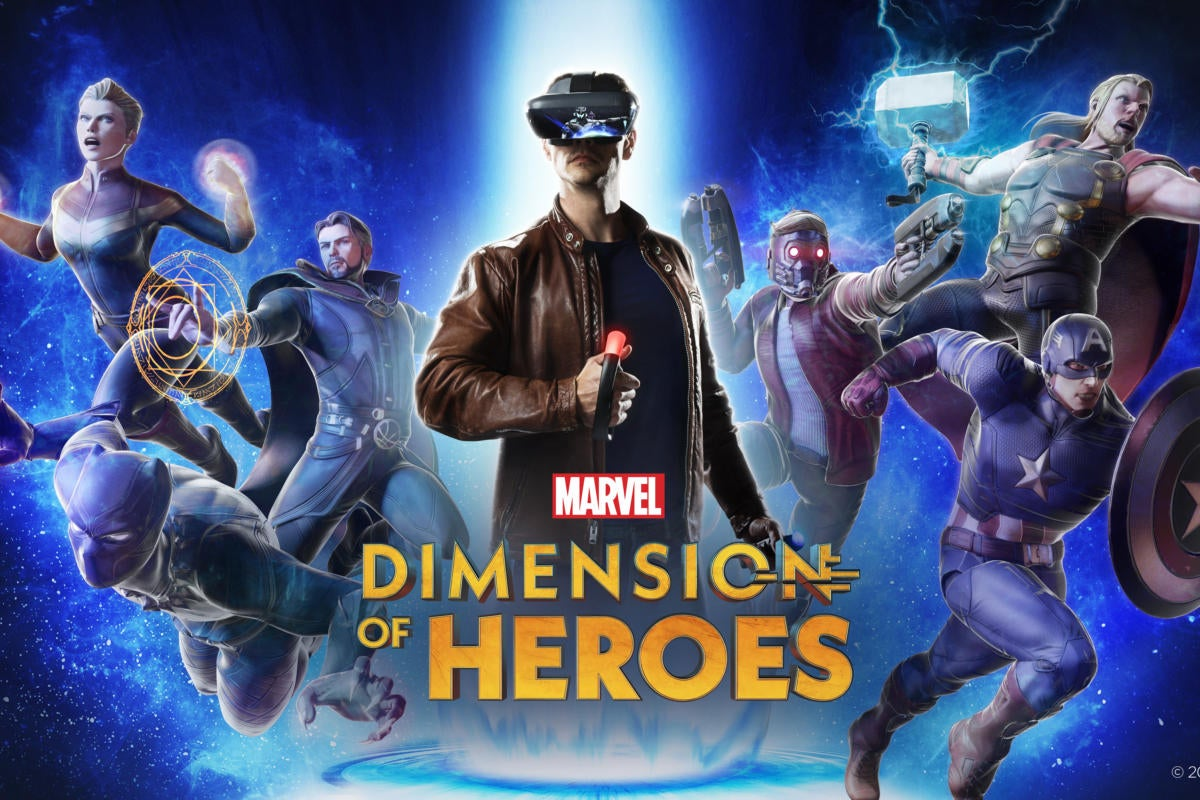 Lenovo's Marvel Dimension of Heroes lets you play Marvel