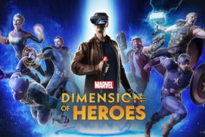 Lenovo's Marvel Dimension of Heroes lets you play Marvel superheroes in AR