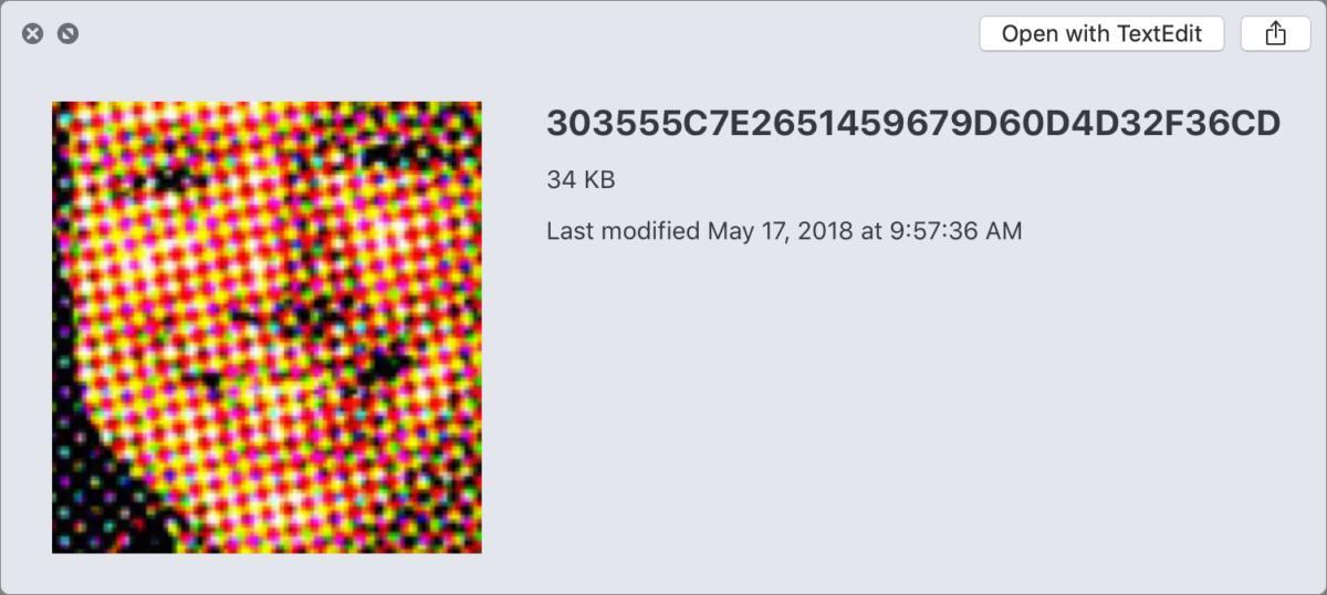 mac911 favicon preview in finder