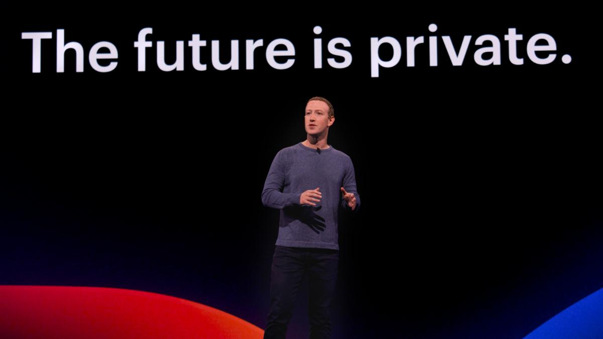 mark zuckerberg facebook the future is private