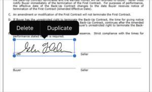markup 13 signature
