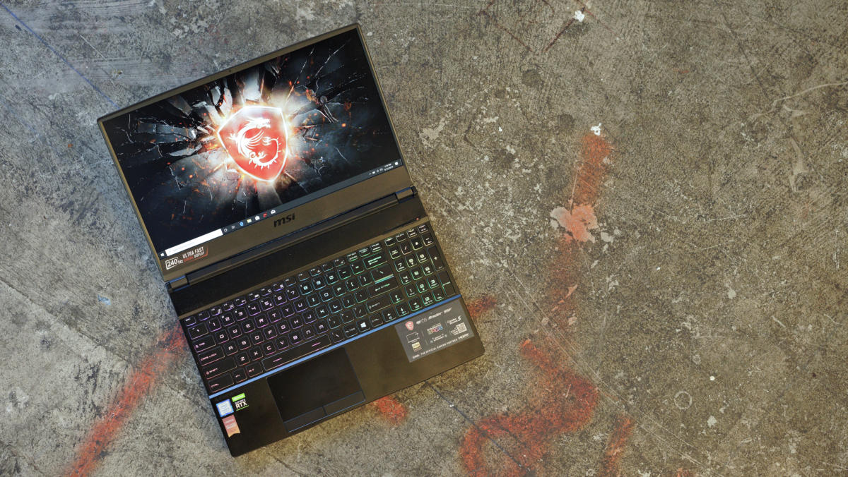MSI's GE65 Raider Review: A little thick, but a lot fast