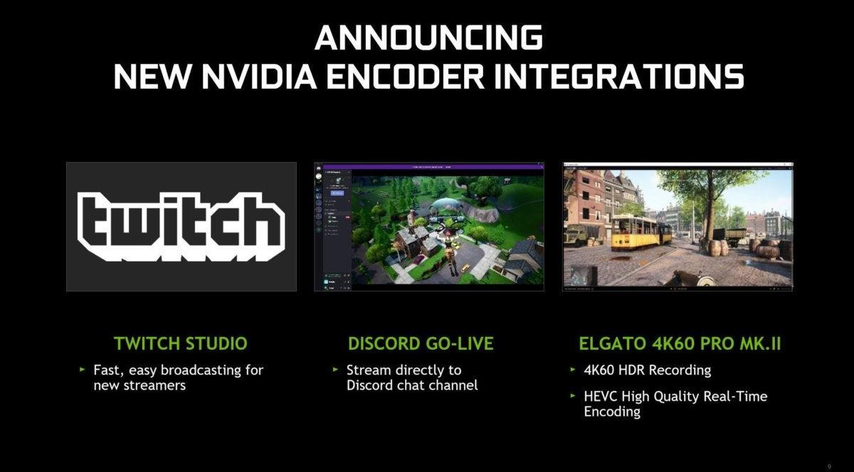 nvidia video codec integrations