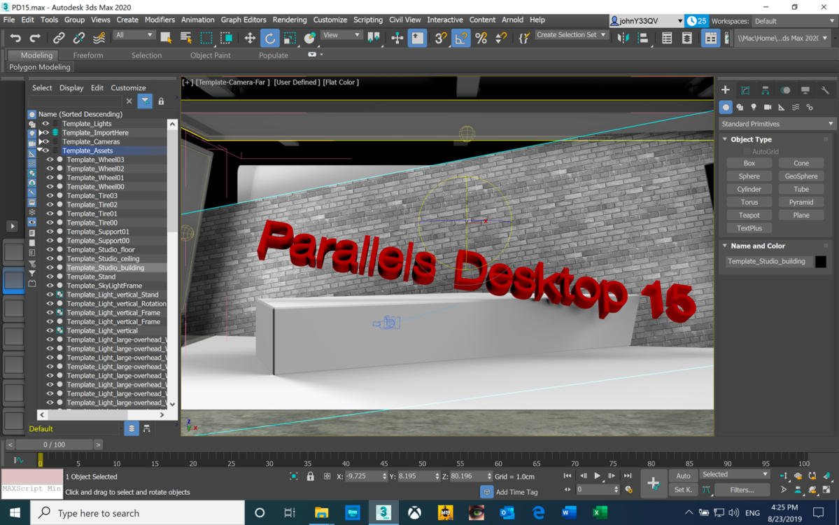 parallels desktop 15 autodesk 3ds max text at angle