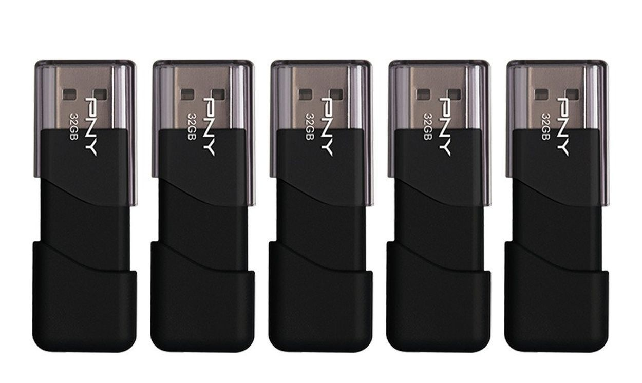 Stock up on cheap flash drives in Amazon's 24-hour PNY storage sale