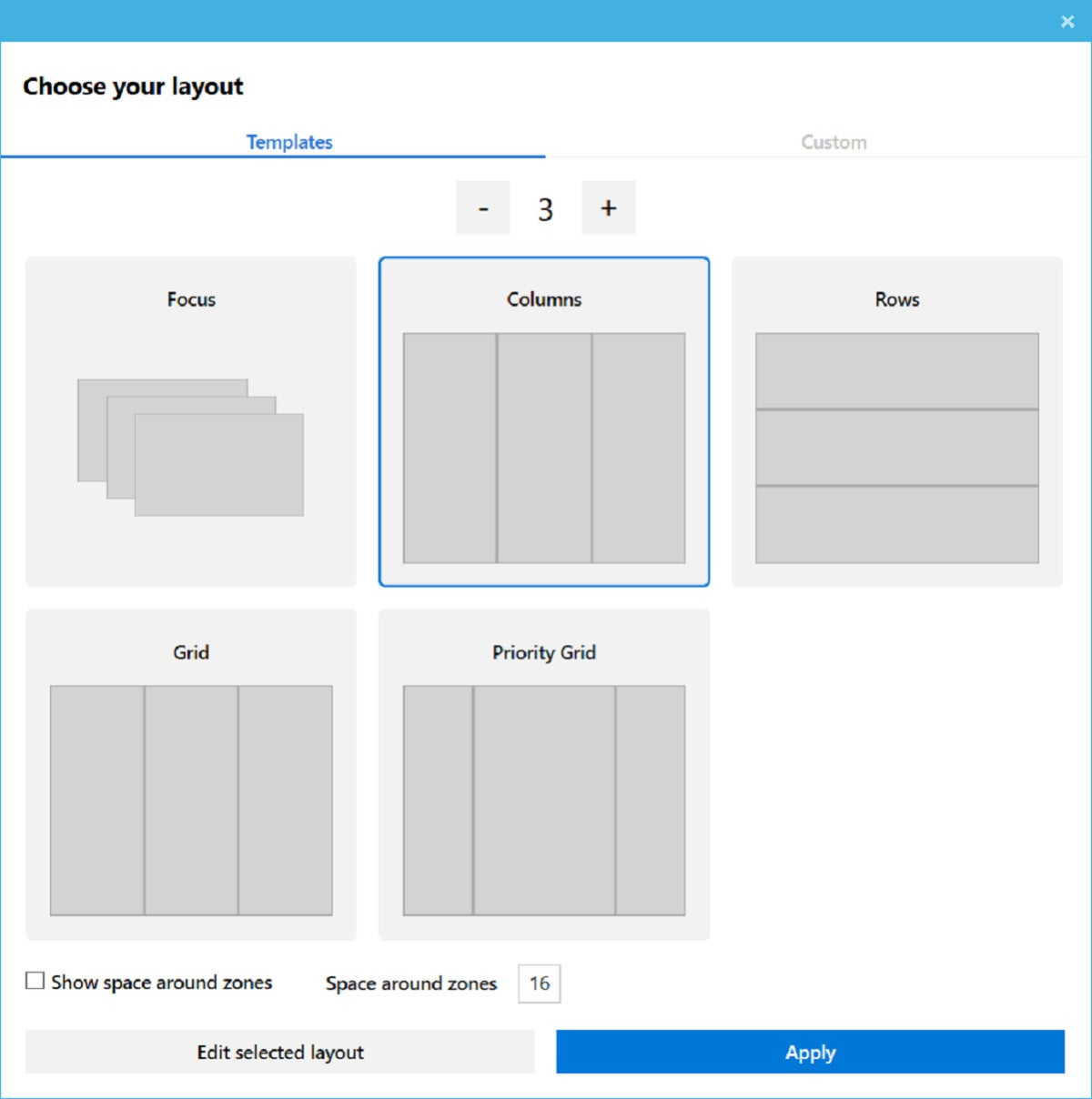 Microsoft powertoys fancyzones 2 large
