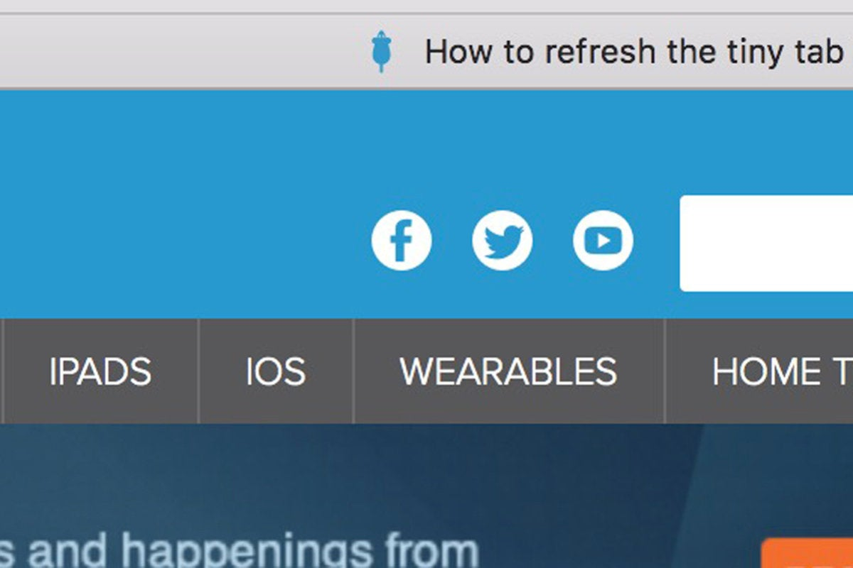 How To Refresh The Tiny Tab Icons In Safari When They Start Disappearing Macworld