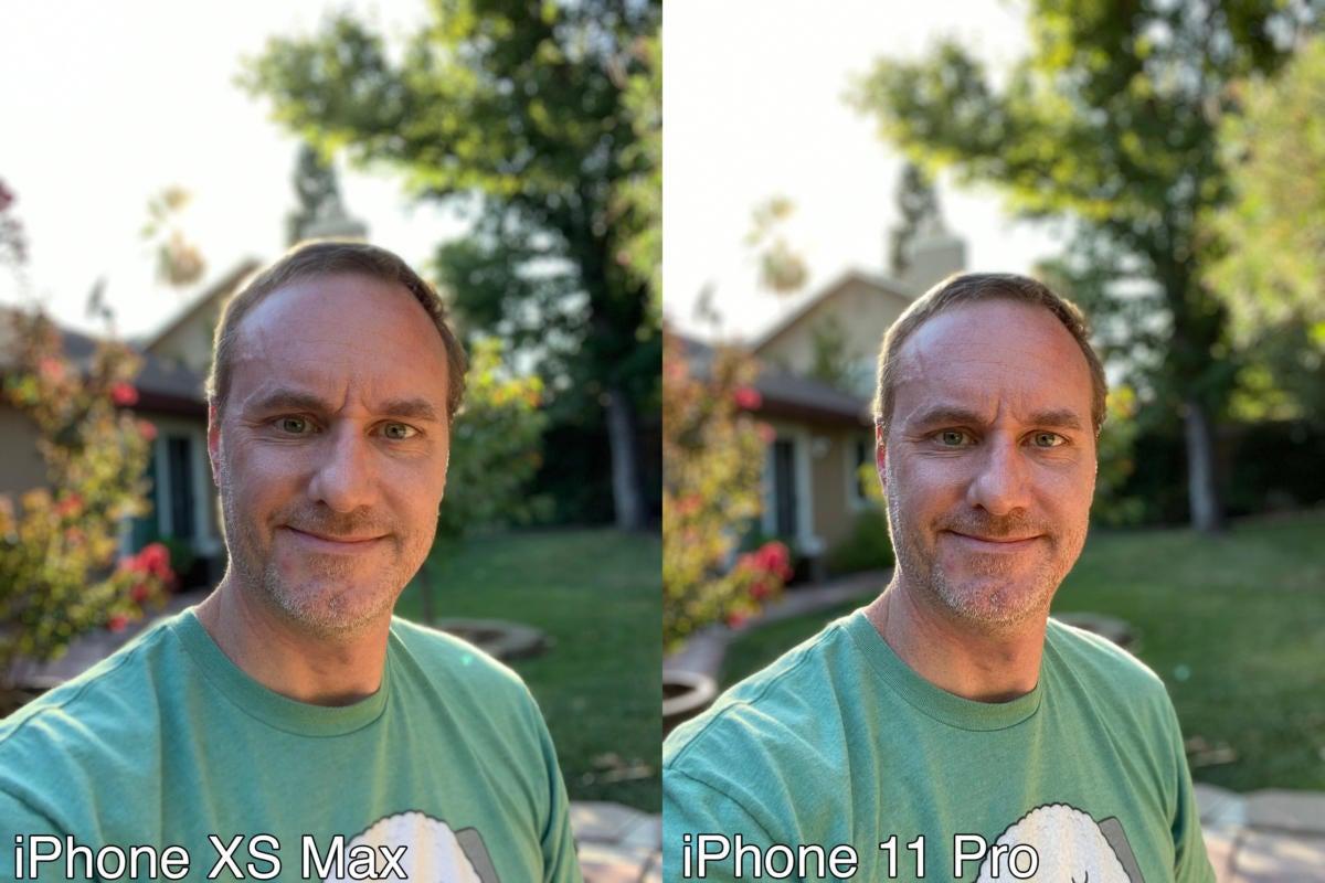 selfie crop compare