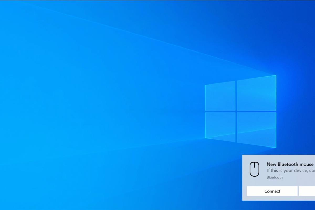 Windows 10 simple bluetooth pairing