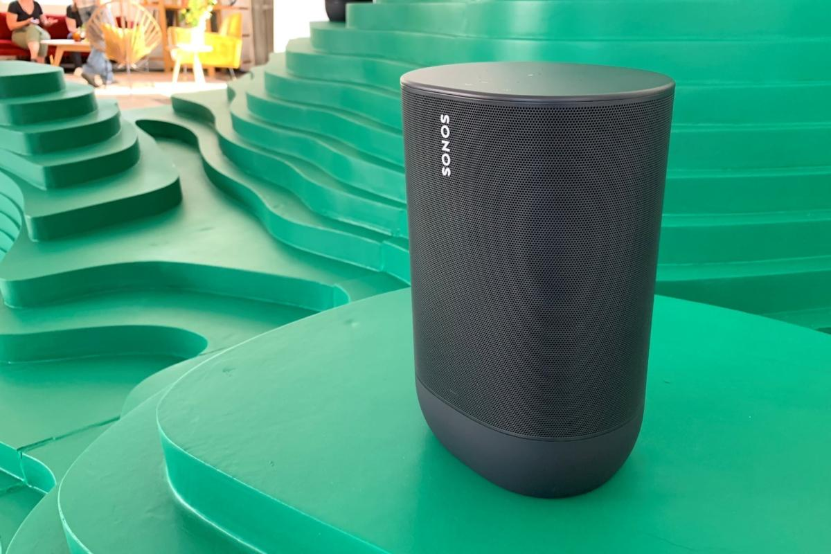 Ears-on with the Sonos Move Bluetooth speaker: Portable