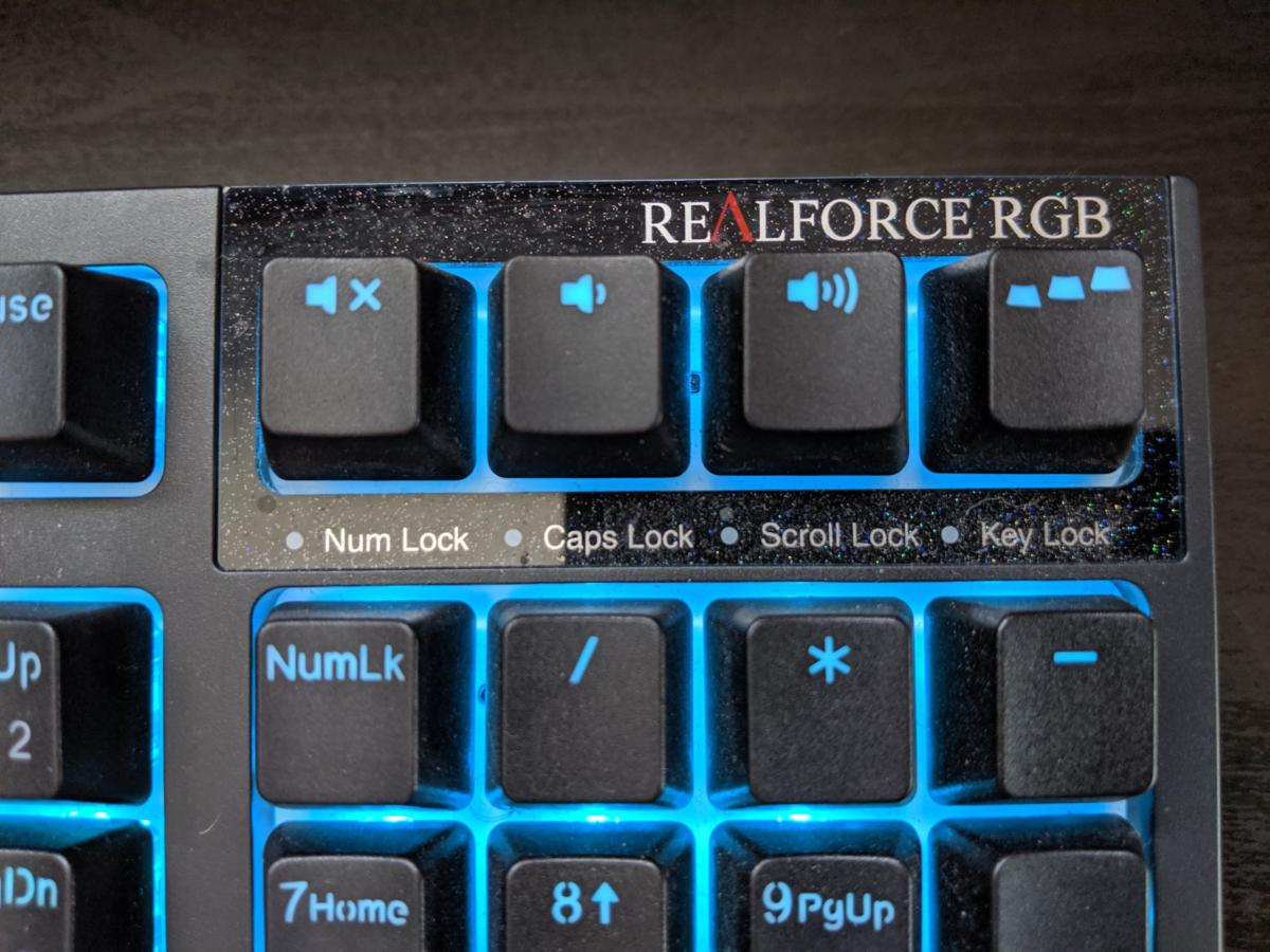 Realforce Rgb Gaming Keyboard Review Even For Topre Fans This Is A Tough Call Pcworld