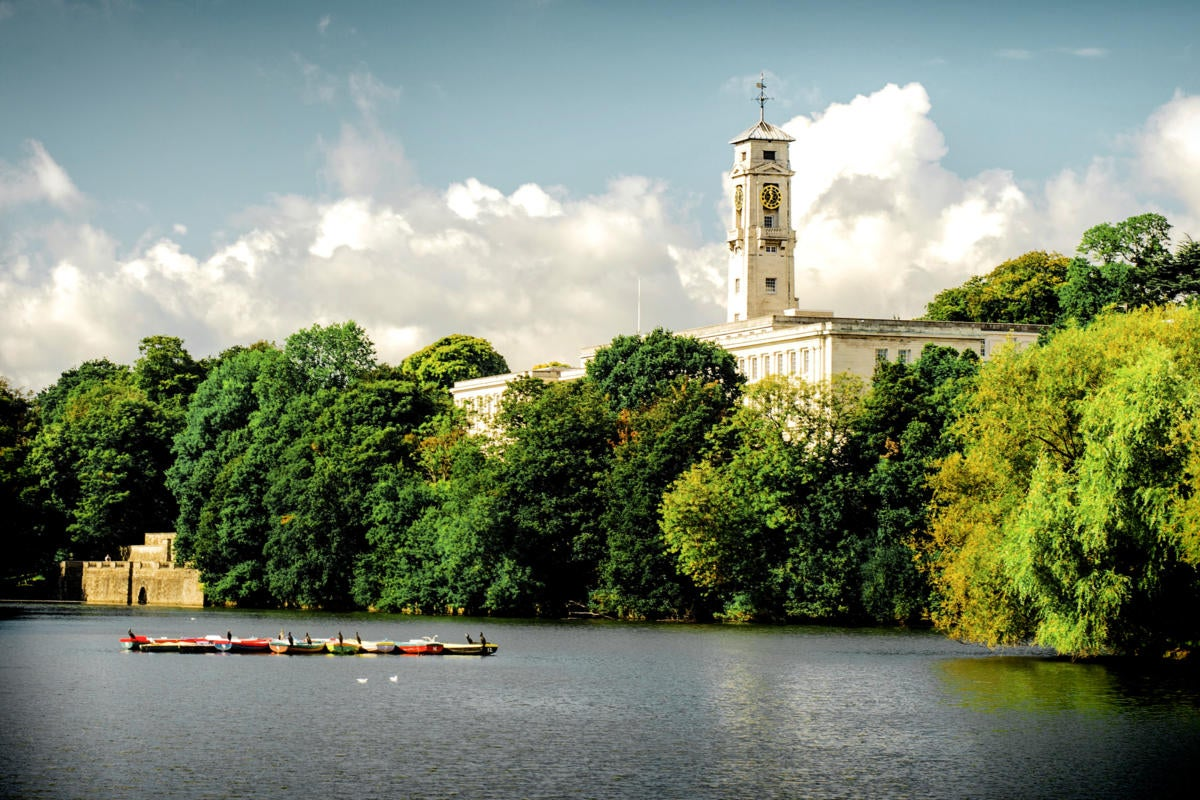 United Kingdom > Nottingham > University of Nottingham > University Park Campus > Trent Building
