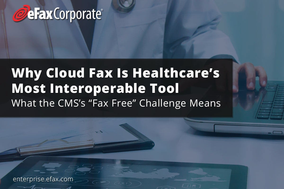why cloud fax is hc most interop tool