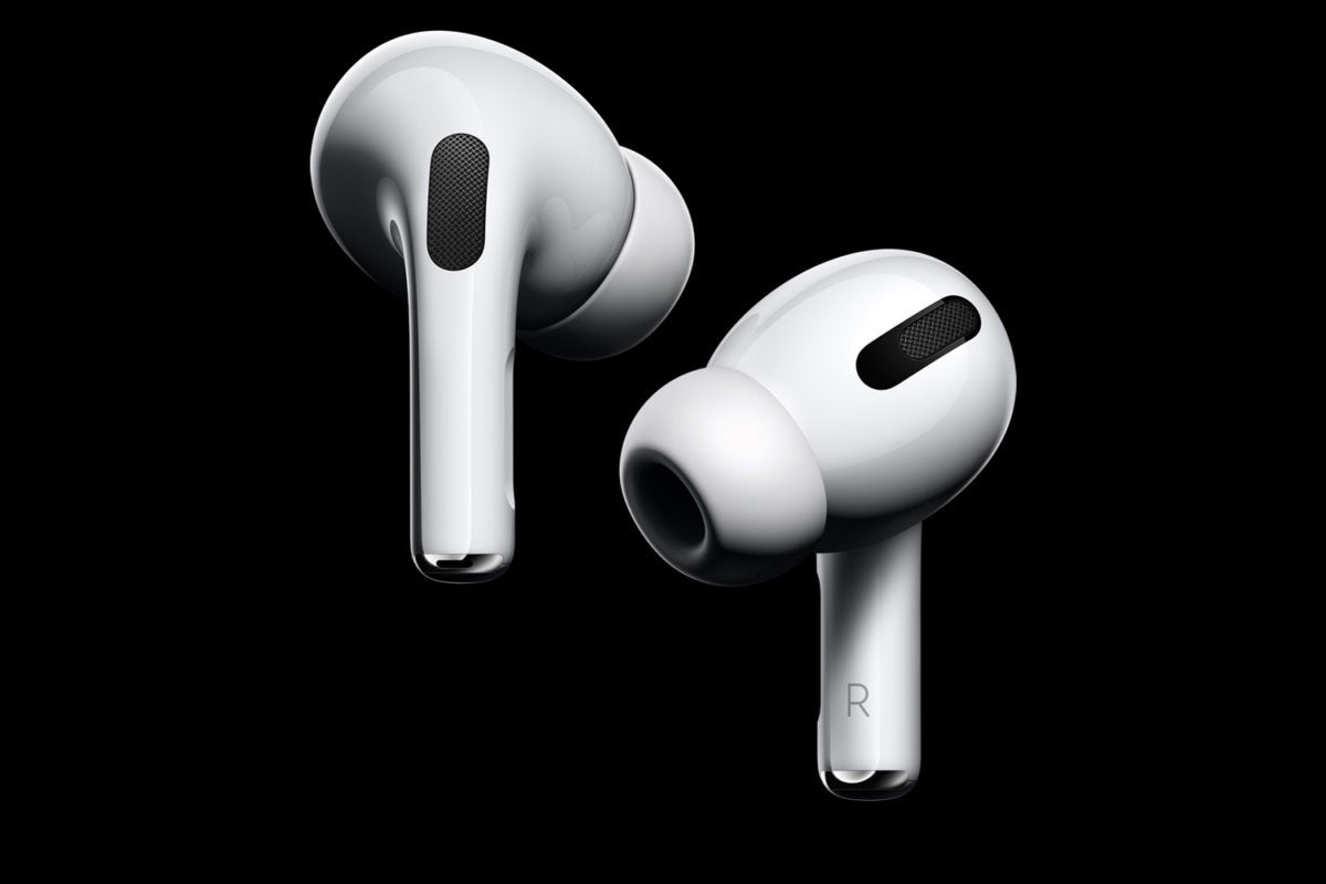 airpods pro 2019 black background