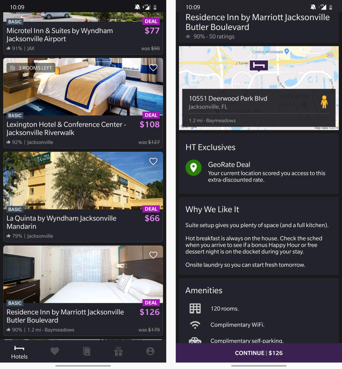 android travel apps hoteltonight
