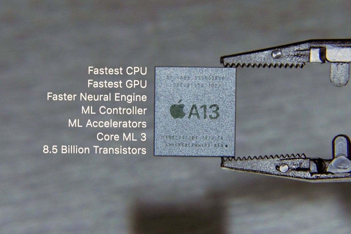 apple a13 video