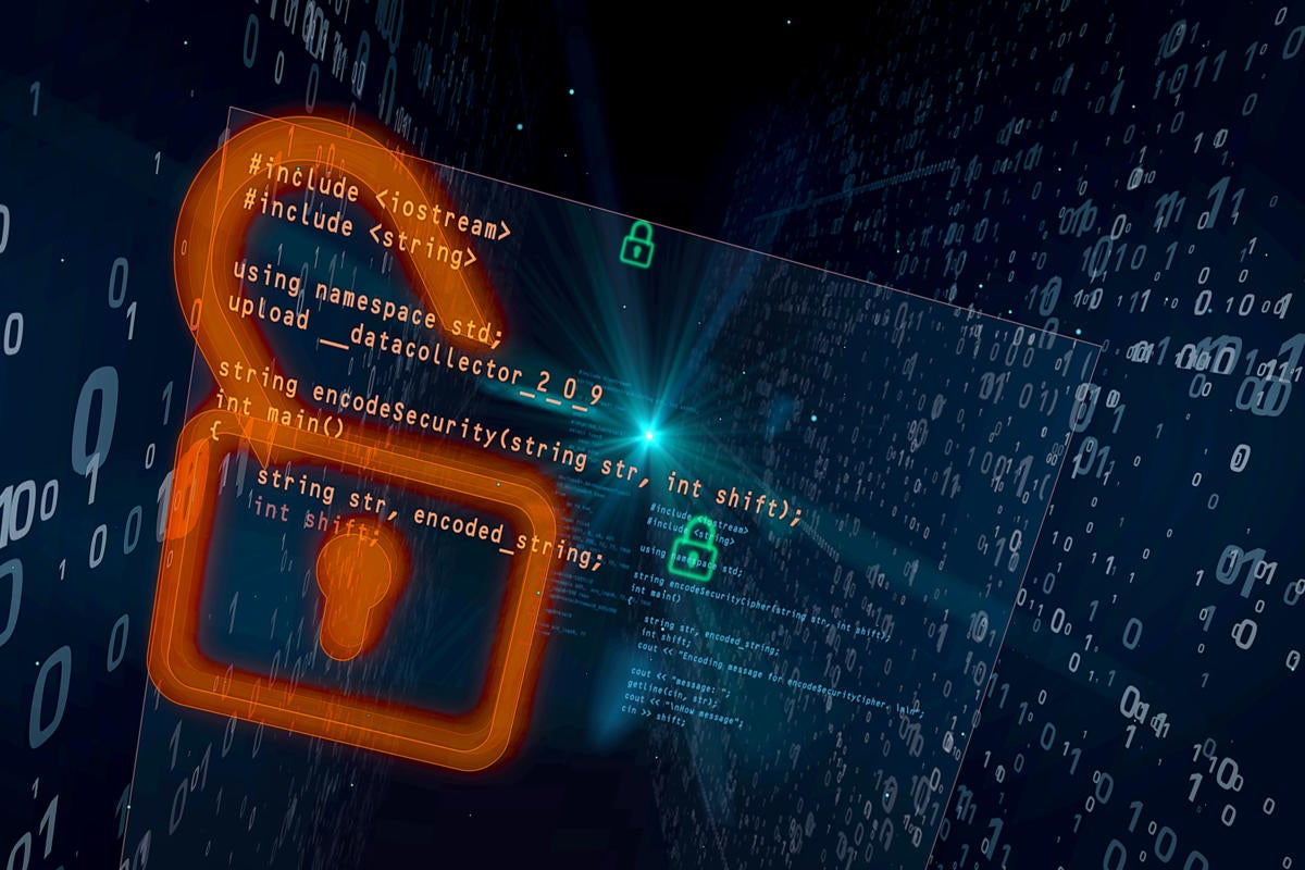 Data breach  >  open padlock allowing illicit streaming data collection
