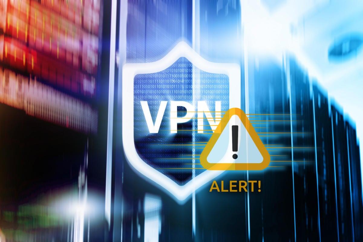VPN security vulnerabilities  >  VPN alert / warning / network servers