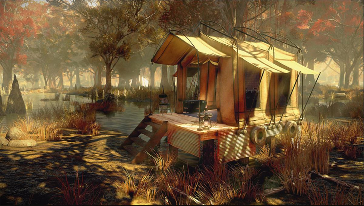 Fallout 76 - Tent