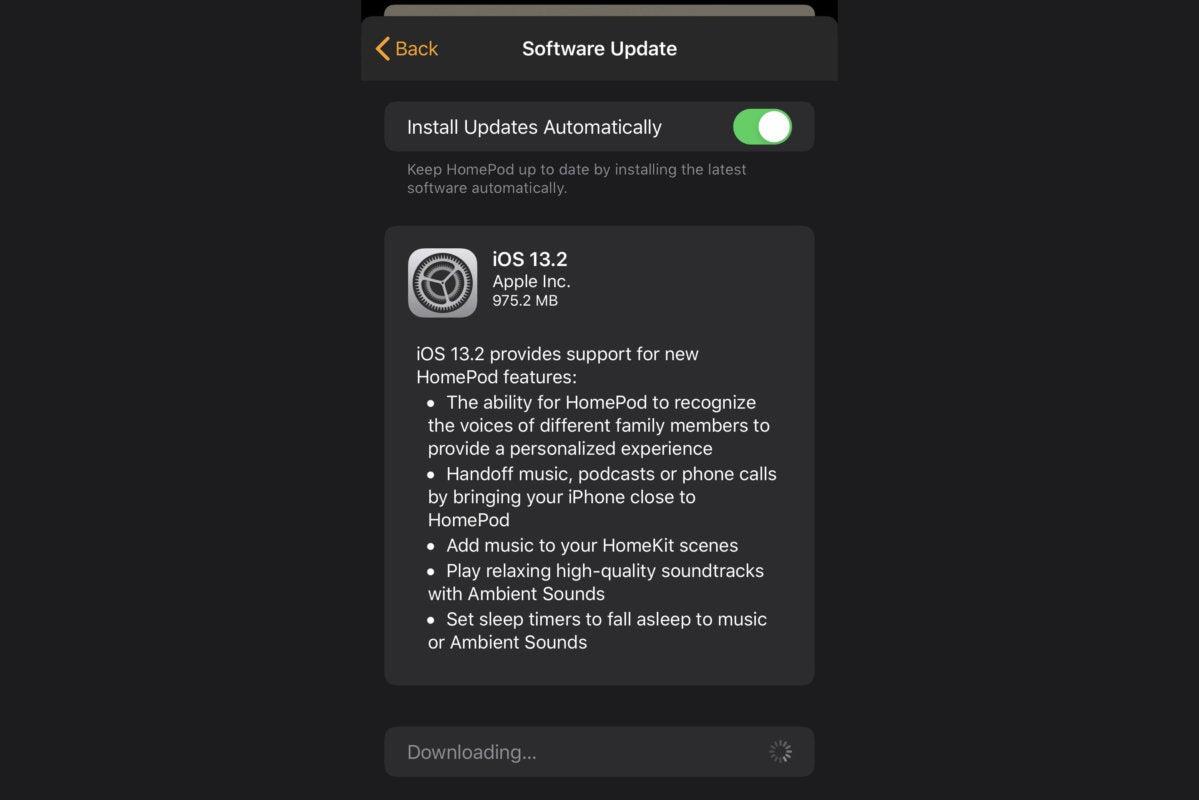 homepod update 13 2