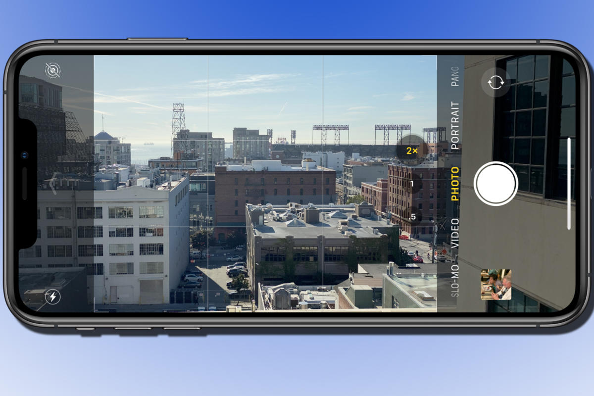 How To Use The Over Capture Feature In The New Iphone Camera To Crop And Adjust Images Later Macworld
