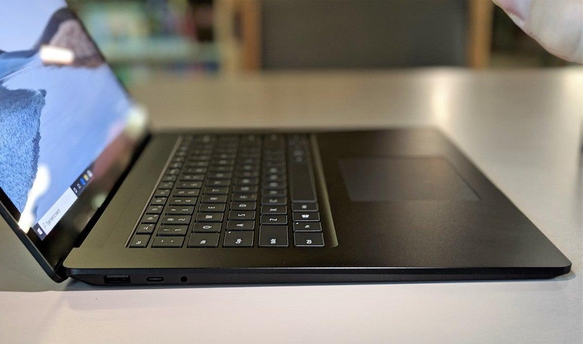 Surface Laptop 3 15-inch Ryzen 7 left side
