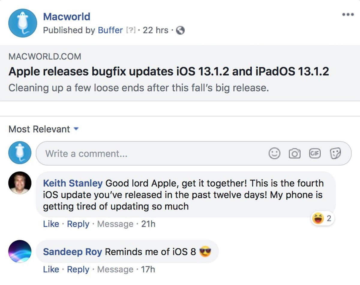 macworld podcast 670 ios13bugfix