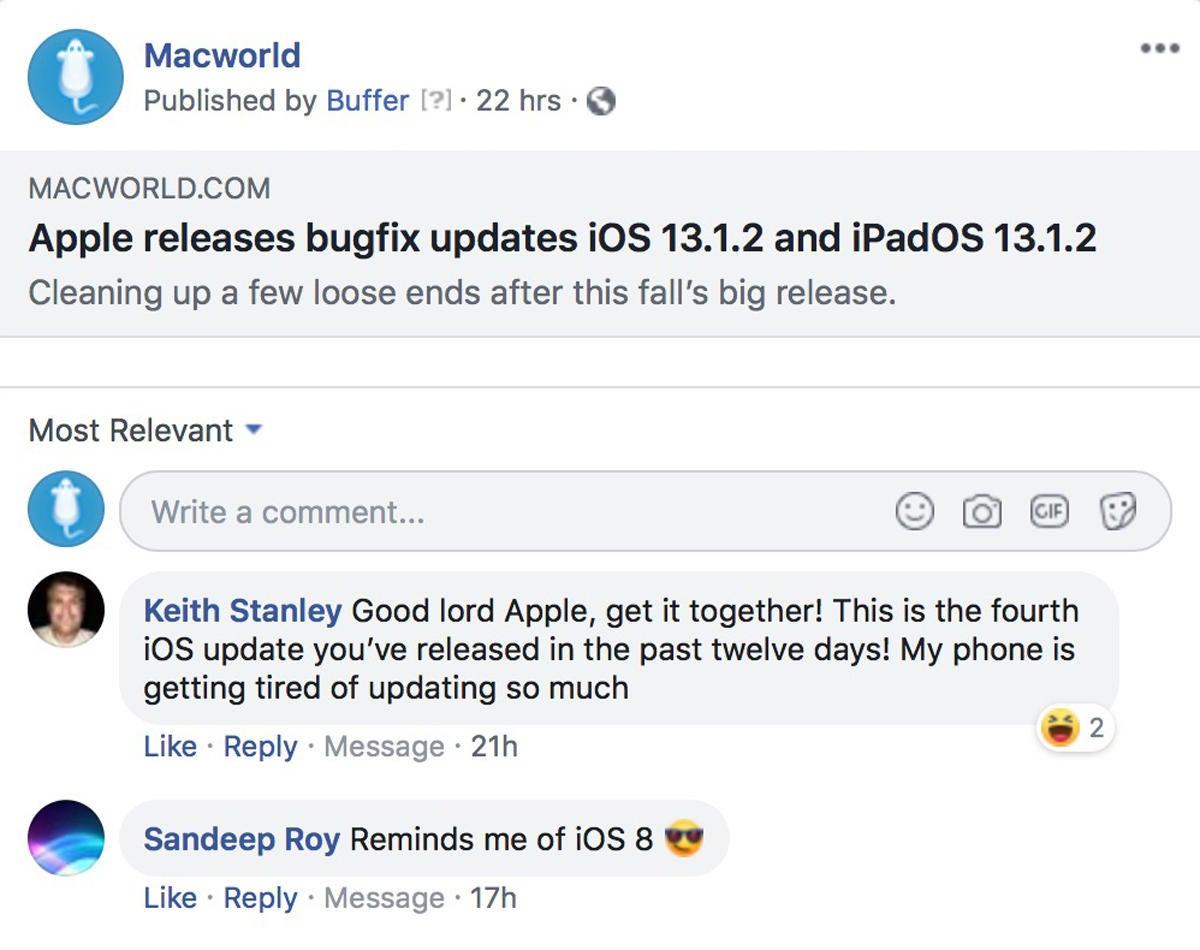 macworld podcast 670 ios13bugfix