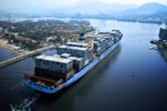 Maersk container ship / shipping containers