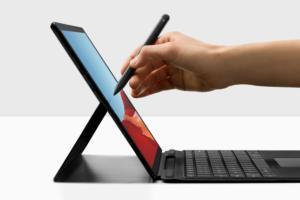 Microsoft Surface Pro X laptop  >  Windows devices