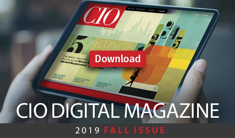 CIO digital magazine, Fall 2019