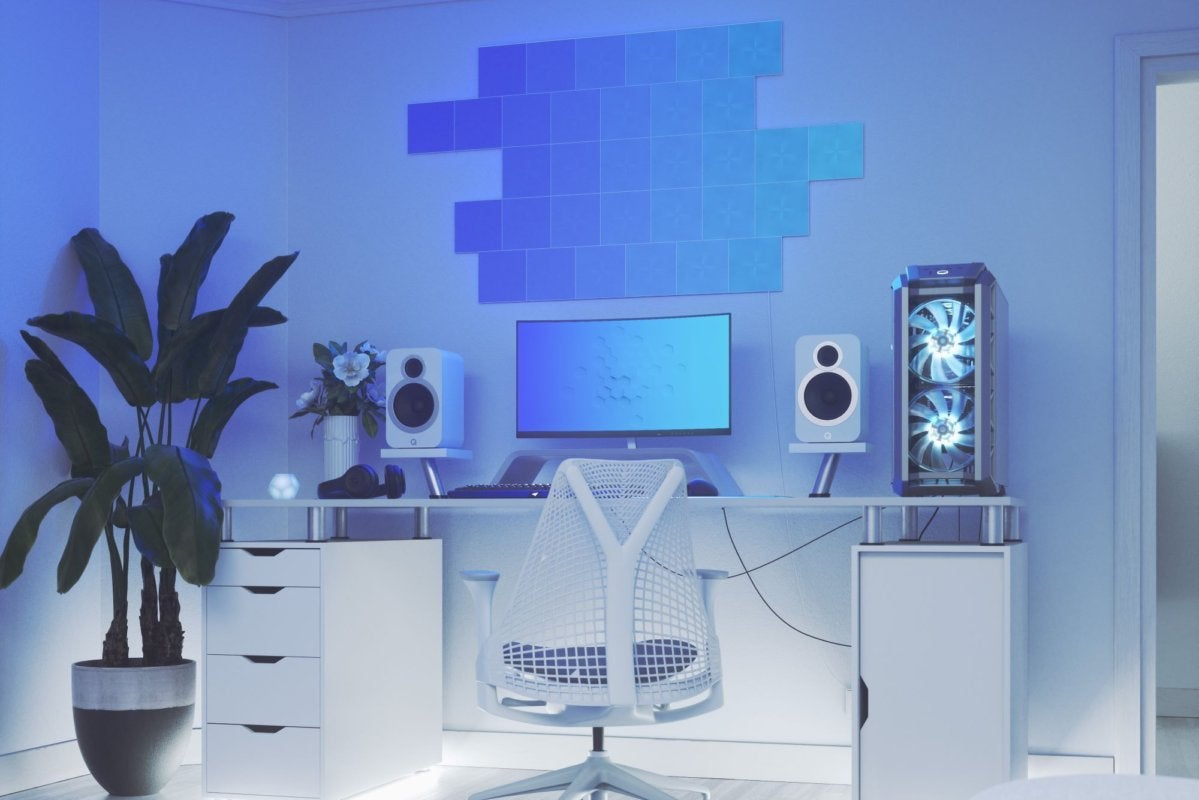 Nanoleaf Screen Mirror feature lets you sync your Canvas light squares with your PC screen