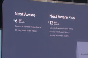 nest aware plans