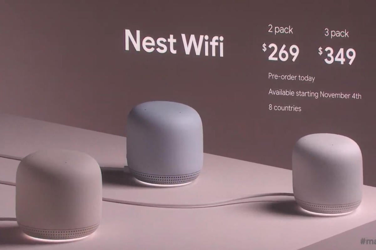 Nest Wifi's integrated smart speakers could give it an edge over Amazon Echo